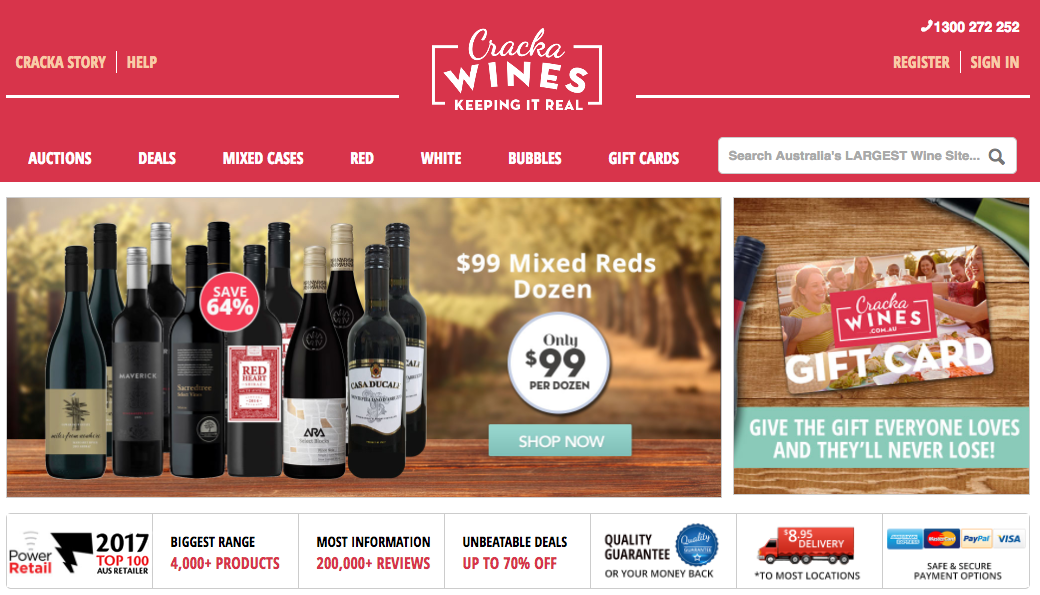 Shopify Plus Partner Createur: Crack Wines before migration