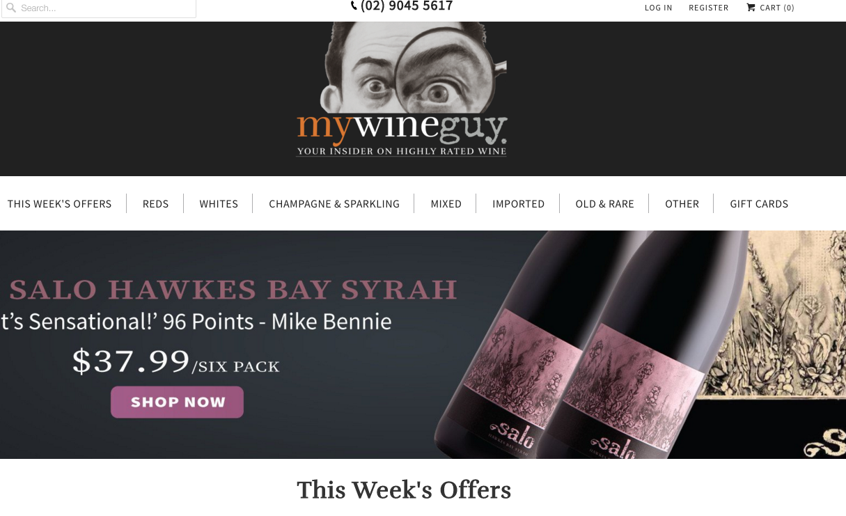 Shopify Plus Partner Createur: My Wine Guy