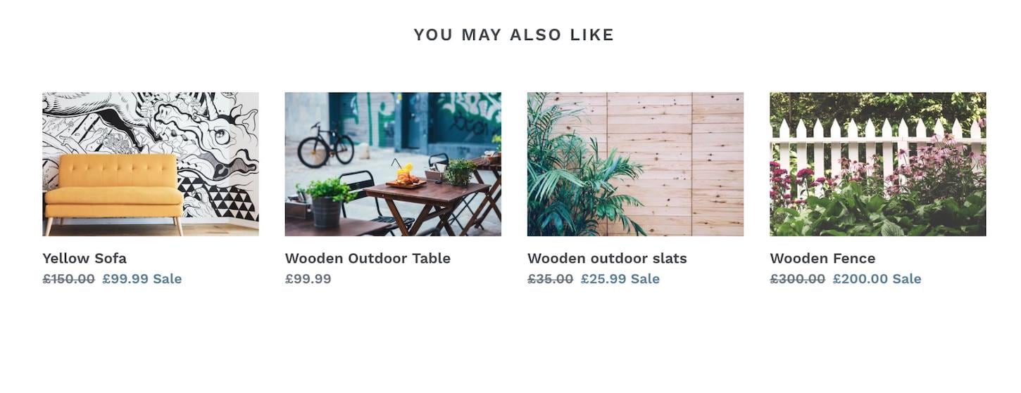 shopify related products: recommendations object