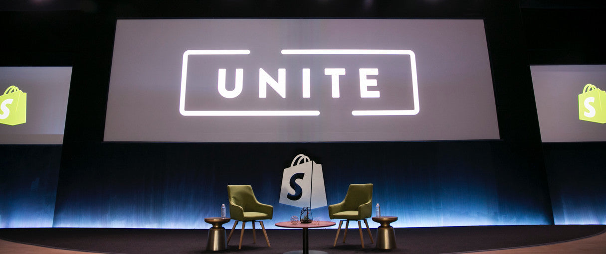Shopify Unite 2017: Announcing Track Sessions