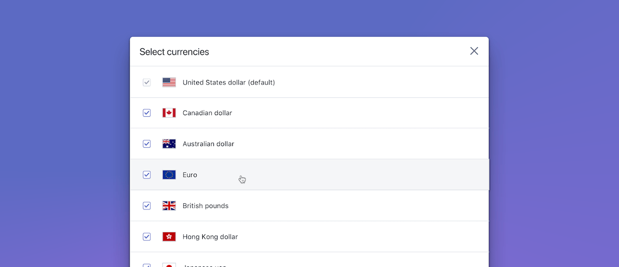 shopify unite 2019 announcements: selling in multiple currencies
