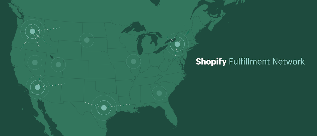 shopify unite 2019 announcements: shopify fulfillment network