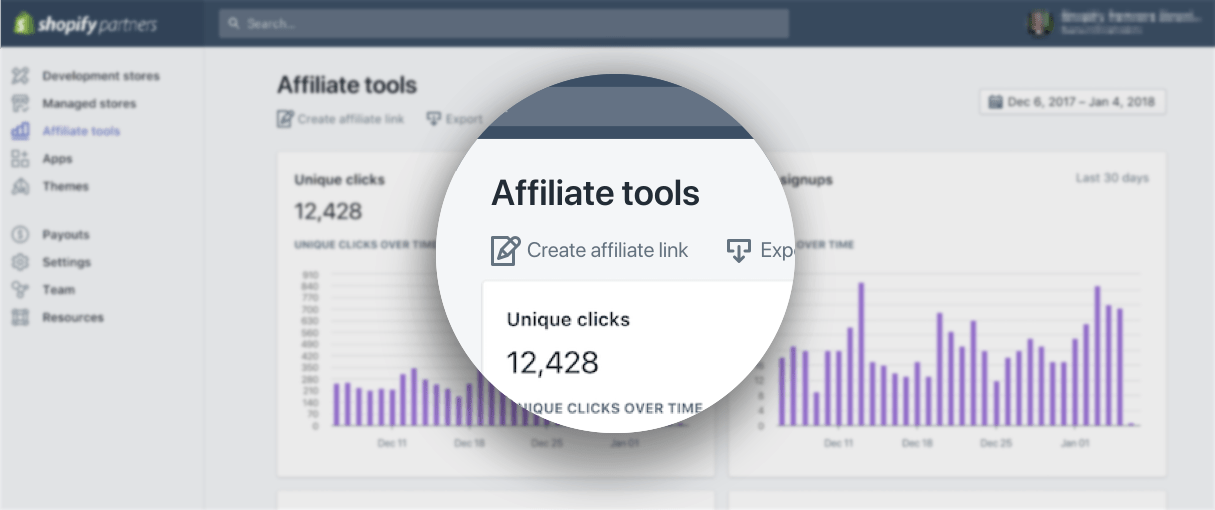 Shopify updates feb 9: affiliate tools
