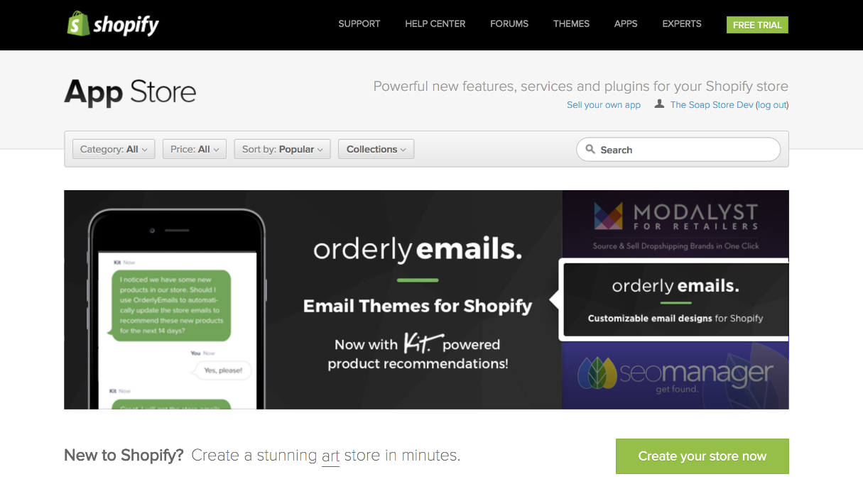 Introduction To Shopify Theming For WordPress Theme Developers - Shopify store templates