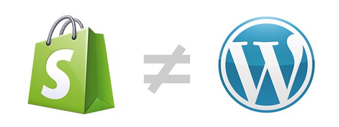 Creating a Shopify App: Different from WordPress