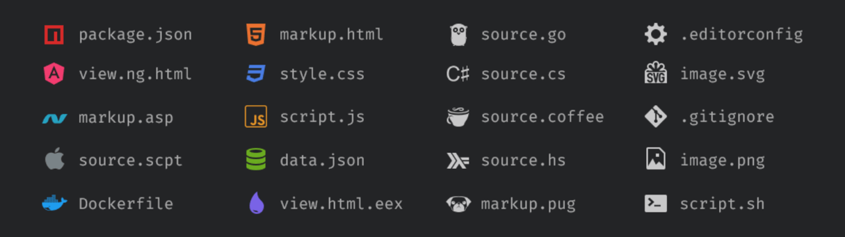 sublime text plugins: a file icon