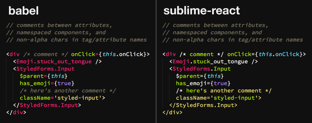 sublime text plugins: syntax