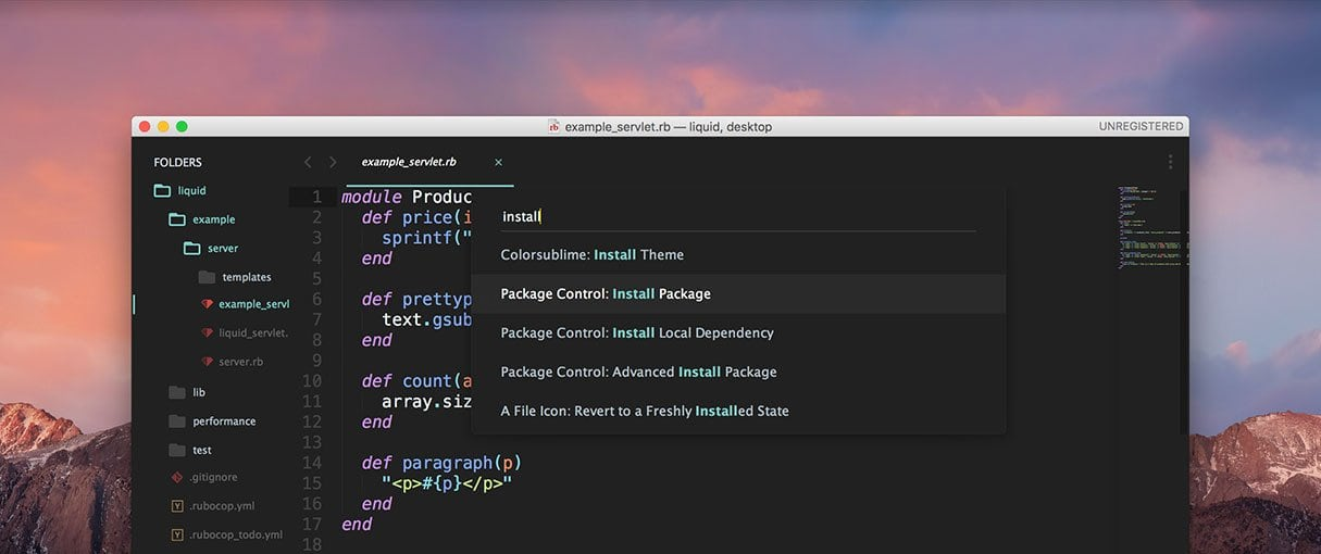 The 25 Best Sublime Text Plugins for Front End Developers