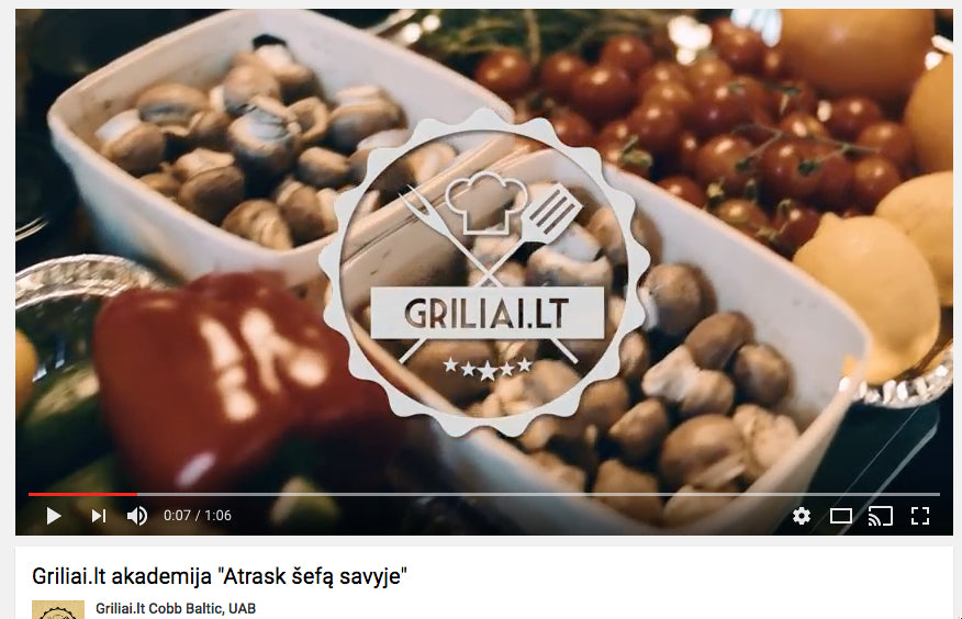 Successful Marketing Campaigns: Griliailt promo video