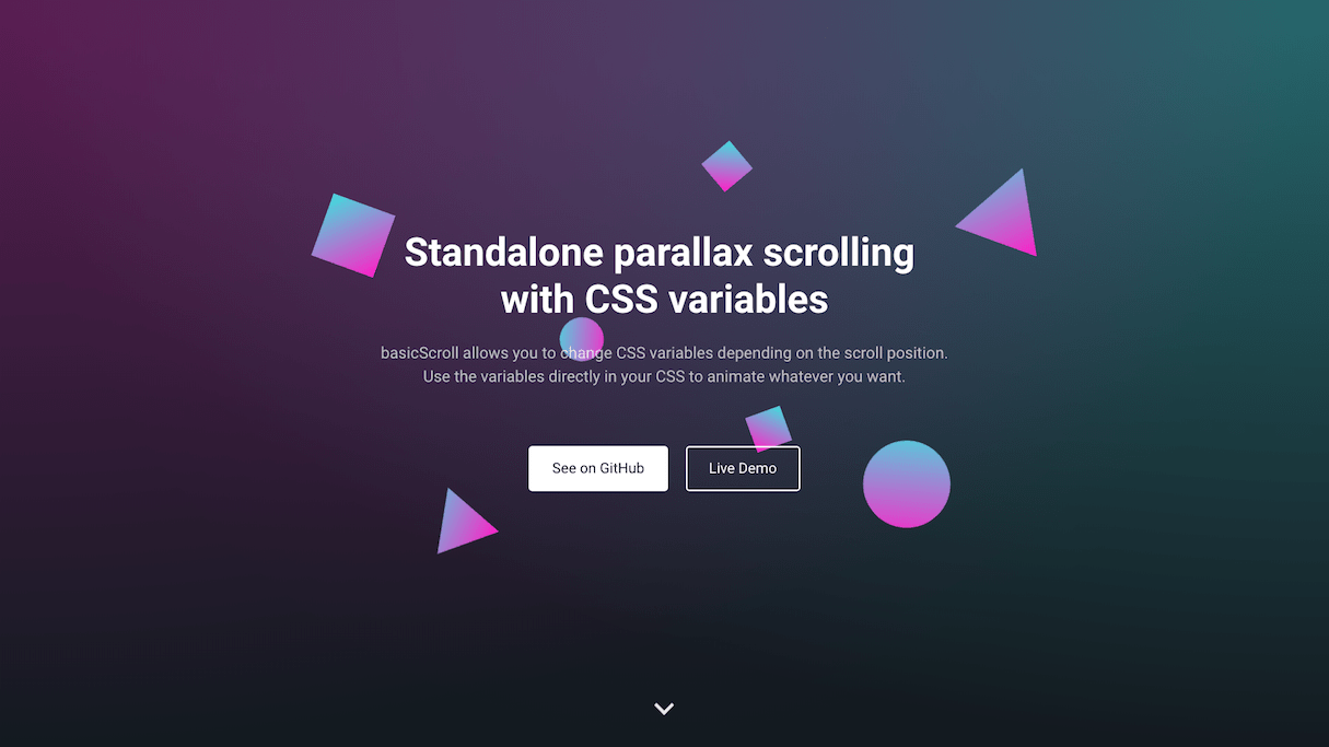 ui animation: basicscroll