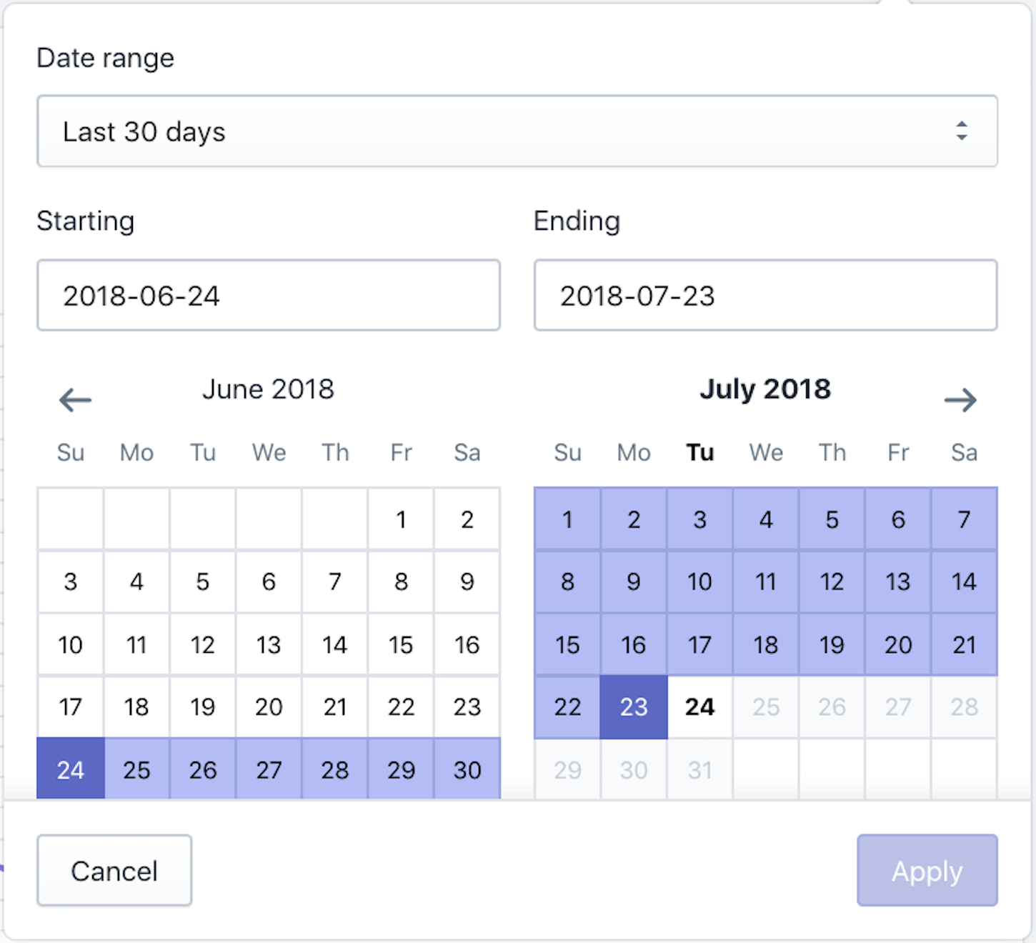 upgrade to polaris: datepicker