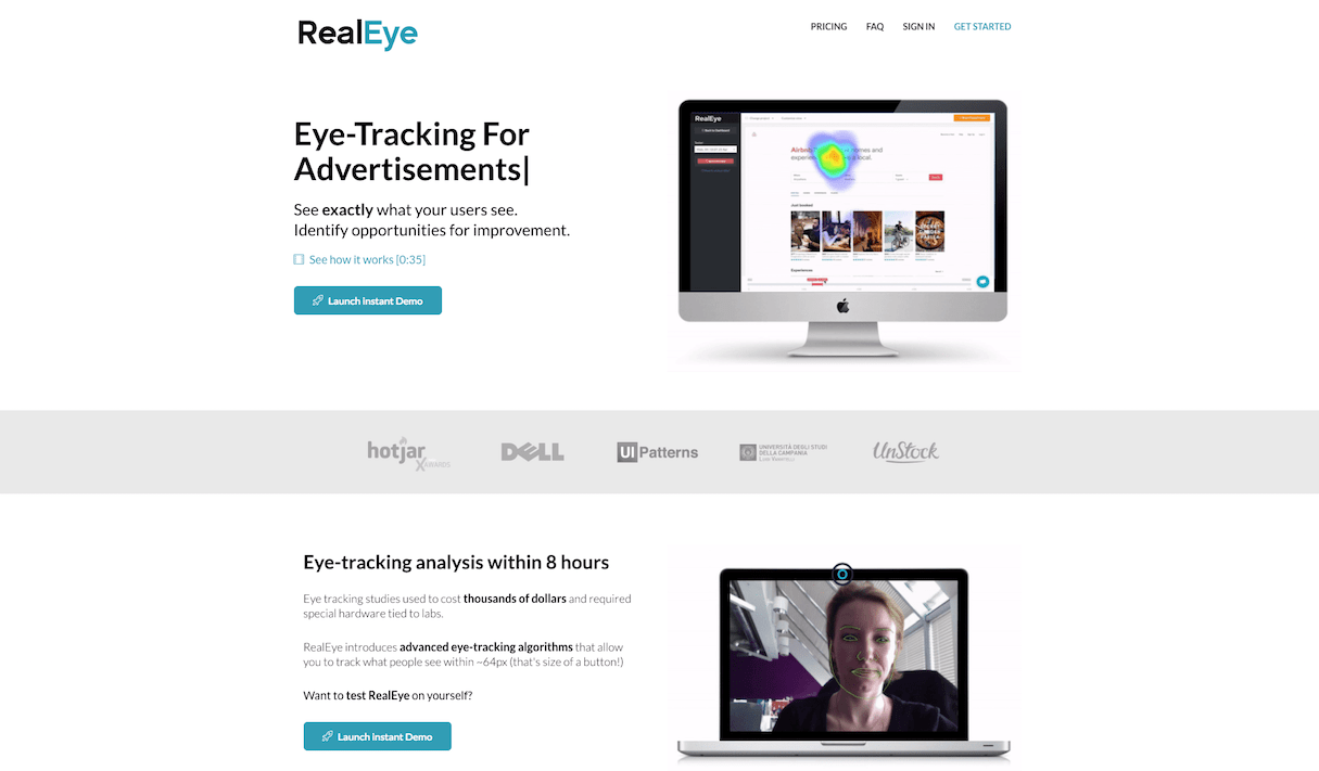 usability testing: real eye