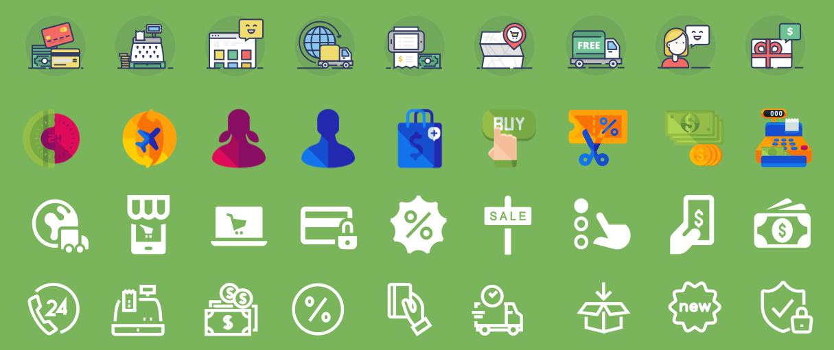 [Free Icon Pack] How to Use Icons to Enhance Your Ecommerce Website
