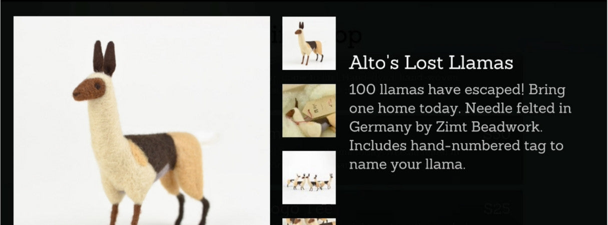 Using Shopify Unity Buy SDK: Alto's Lost Llamas