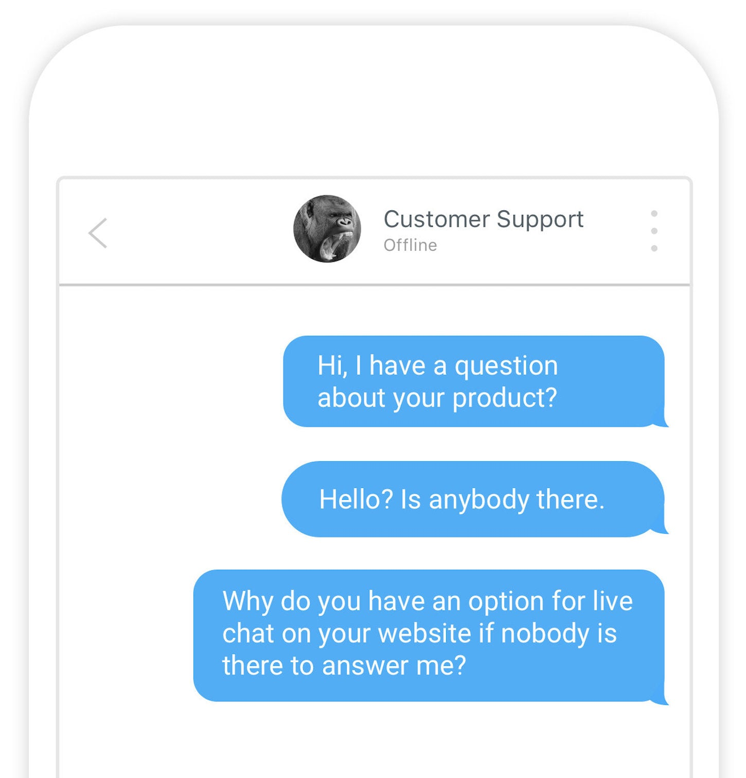 ux designers: chat support