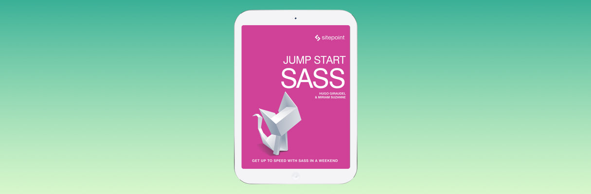 Web Design Books 2016: Jump Start Sass