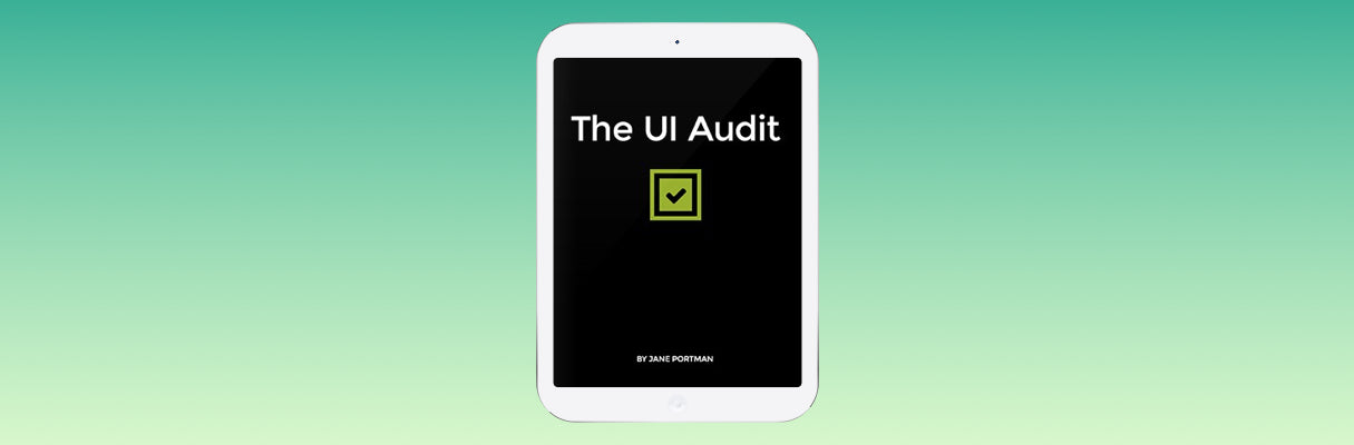 Web Design Books 2016: The UI Audit