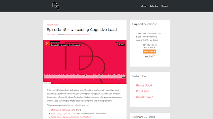 Web Design Podcasts: Design Review