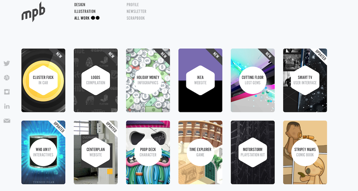 Fabulous 20 Memorable Web Design Portfolios to Inspire Your Own Website #PH73