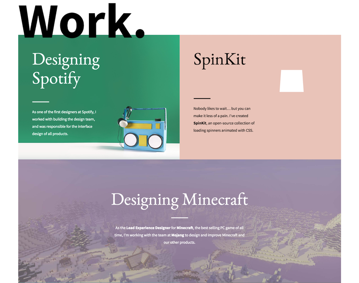 Bedwelming 20 Memorable Web Design Portfolios to Inspire Your Own Website @DF68