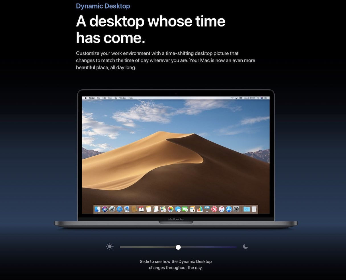web design trends 2019: mojave