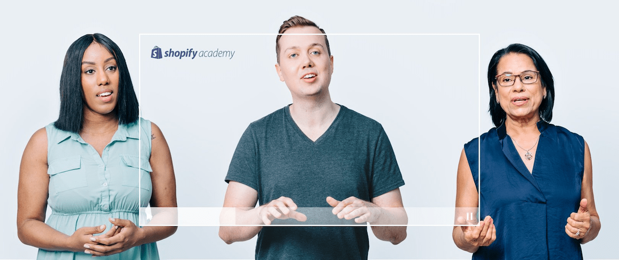 what's new august 2018: shopify academy