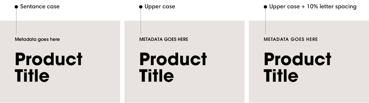 why fonts matter: type case