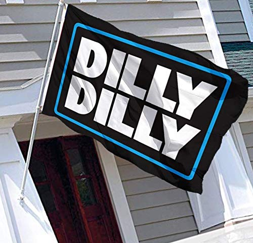Dilly Dilly Flag Cool Beer Flags,Funny Banner for College Dorm Room, Man Cave, Tailgates and Parties 3x5 Feet