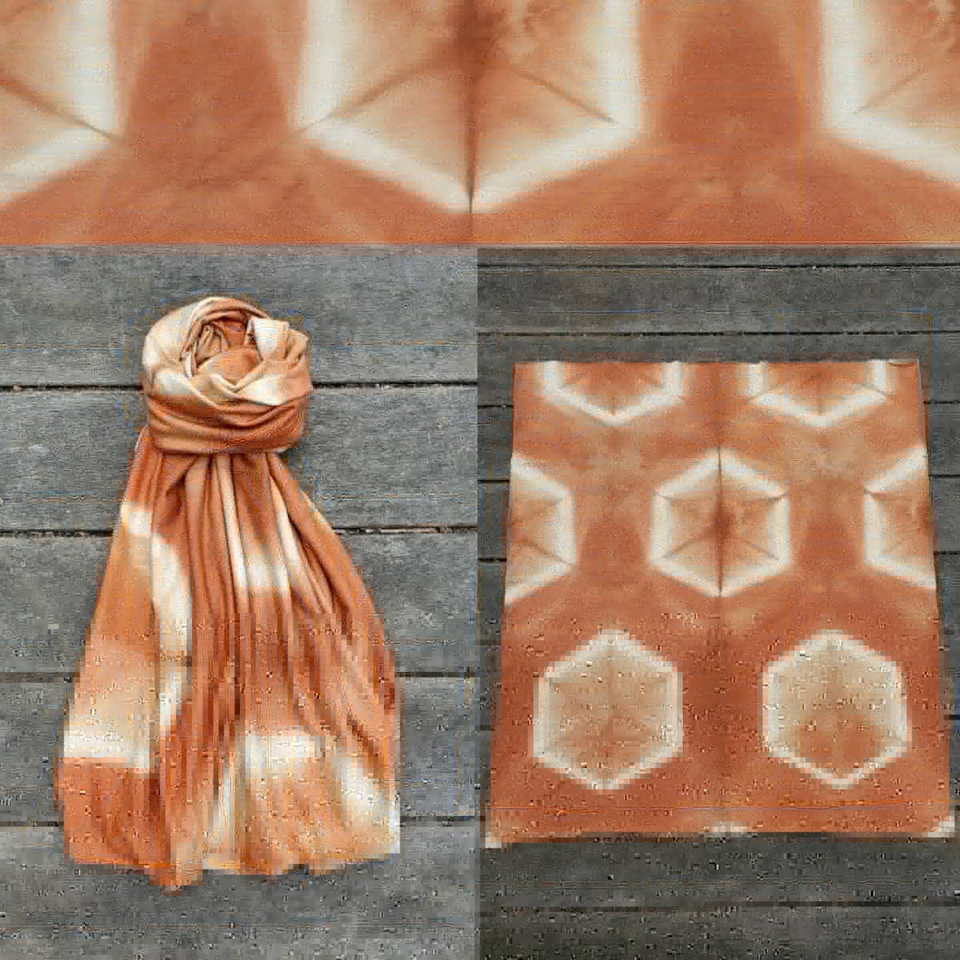 Honeycomb Loop Scarf