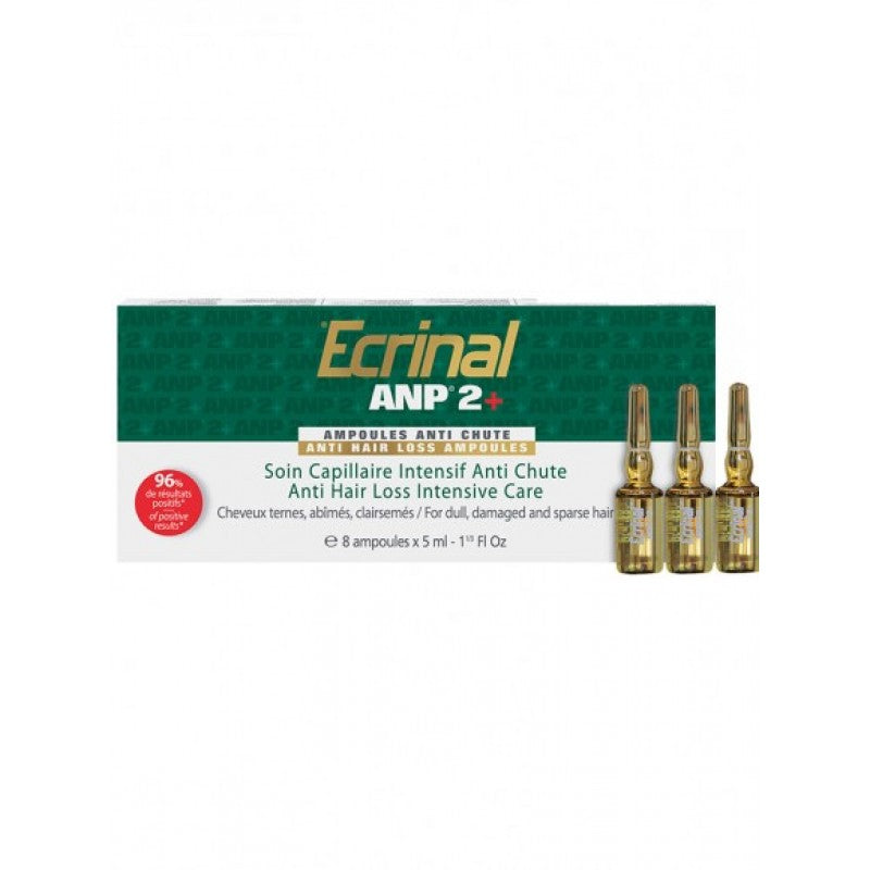 Hair Ampoules with ANP 2plus40 Box of 8by8 X 5 ml