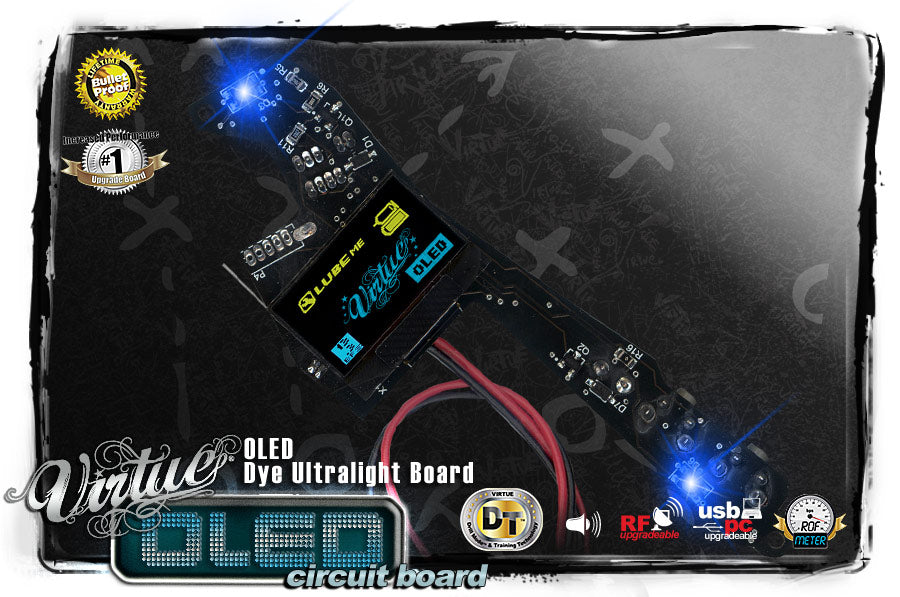 CARTE VIRTUE OLED DM6/7/8/9/10/PM8/PMRUL/REFLEX