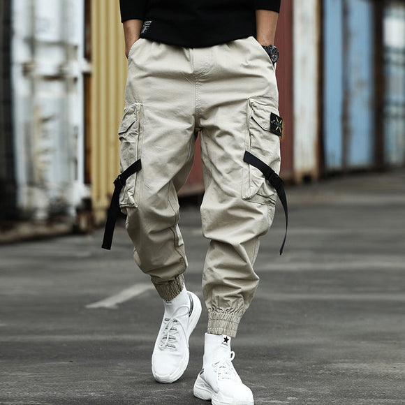 Camouflage Pants Men Casual Camo Cargo Trousers Hip Hop Joggers Streetwear Pantalon Casual SweatPants Black Slim Mens Joggers