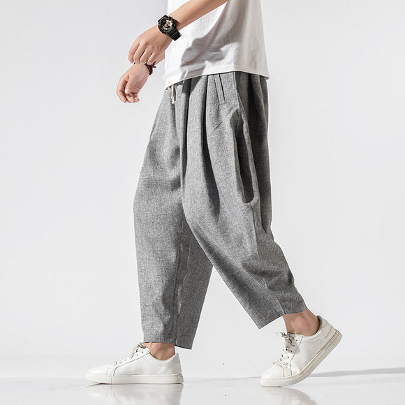 MrGB Men's Casual Oversize Harem Pants 2020 Spring New Chinese Style Loose Man Pants Harajuku Streetwear Fashion Trousers