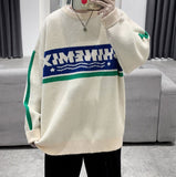 2020 Autumn And Winter New Youth Fashion Loose Simple Letter Printing Sweater Fashion Casual All-match Round Neck Pullover