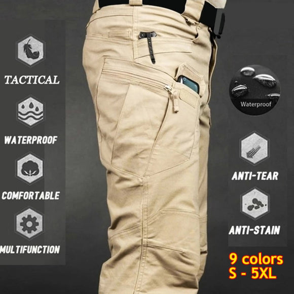 Tactical Pants Men Summer Casual Army Military Style Trousers Mens Cargo Pants Waterproof Quick Dry Trousers Male Bottom