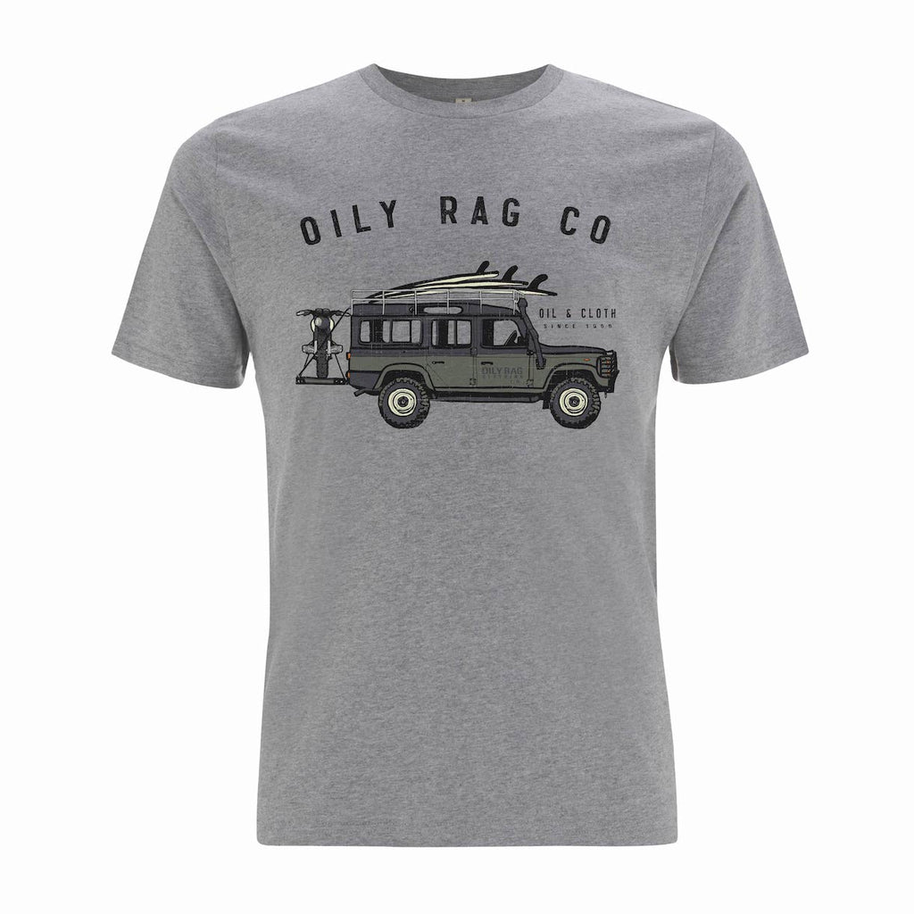 Land-rover 4x4 T-shirt - Grey Heather