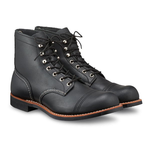 Red Wing Iron Ranger Boot in Black 8084