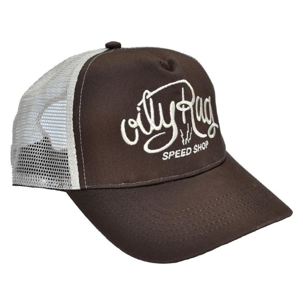 Oily Rag Speed Shop Trucker Cap