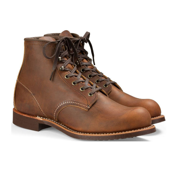 Red Wing Blacksmith Boot in Copper 3343