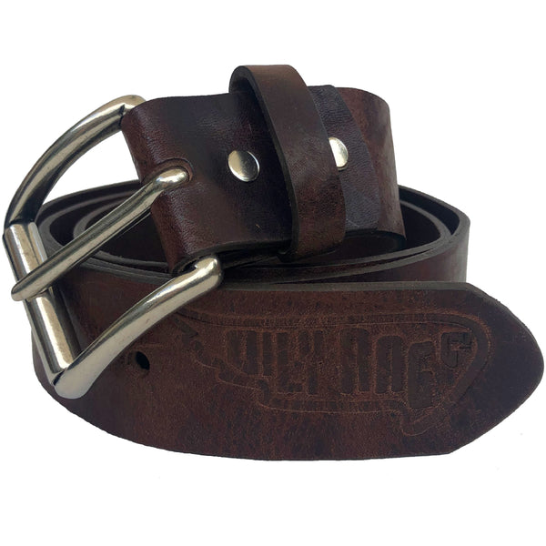 leather belt, brown leather belt, belt buckle, embossed leather,