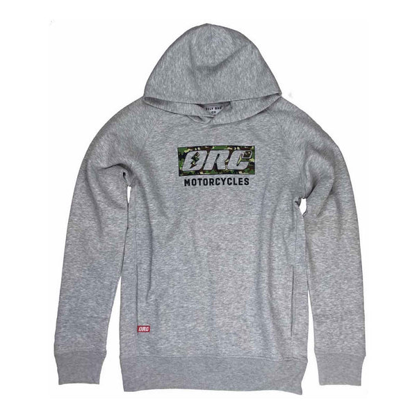 ORCo Camo Pullover Hoodie - Grey Heather