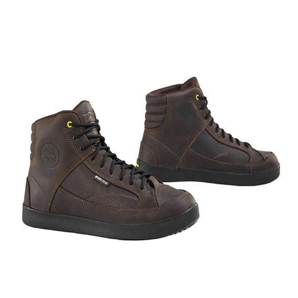Falco Yuman Leather Boots - Brown