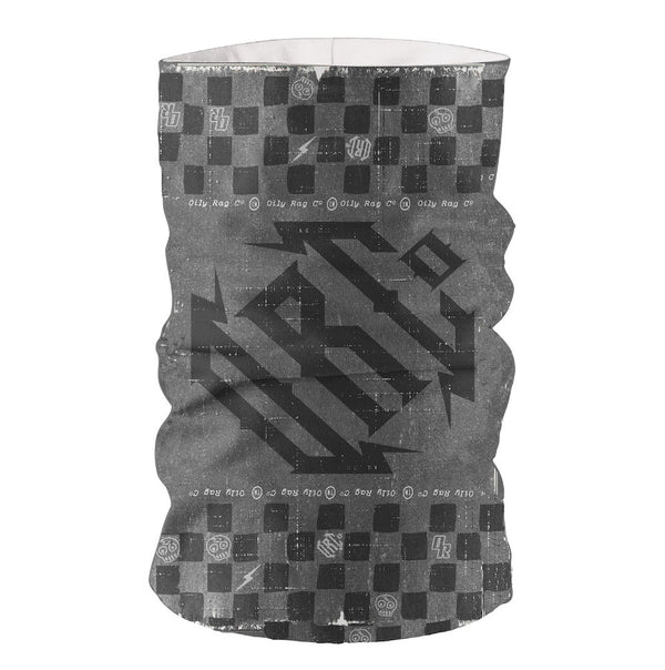 Oily Rag Gothic TooB- Grey/Black - Multi-funtional Face Protection.