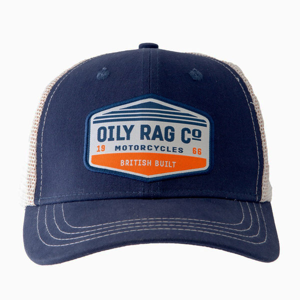 Oily Rag Co Motorcycles Trucker Cap
