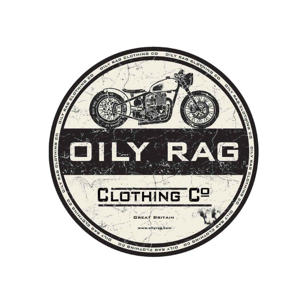 Oily Rag Clothing Co Sticker