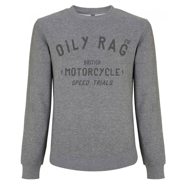 Motorcycle Speed Trials Sweatshirt - Grey Heather