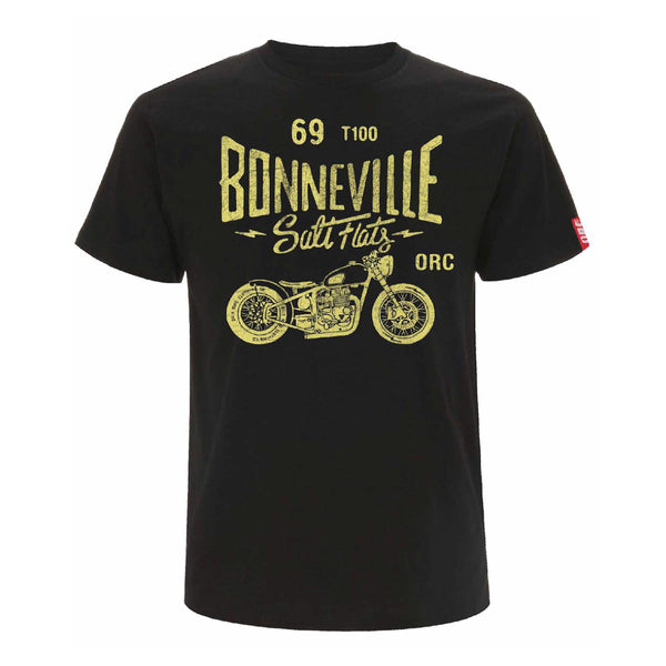 T-shirt, Bonneville Salt Flats, motorcycle, racing