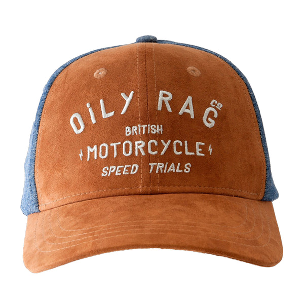 Oily Rag Speed Trails Melton Denim Baseball Cap