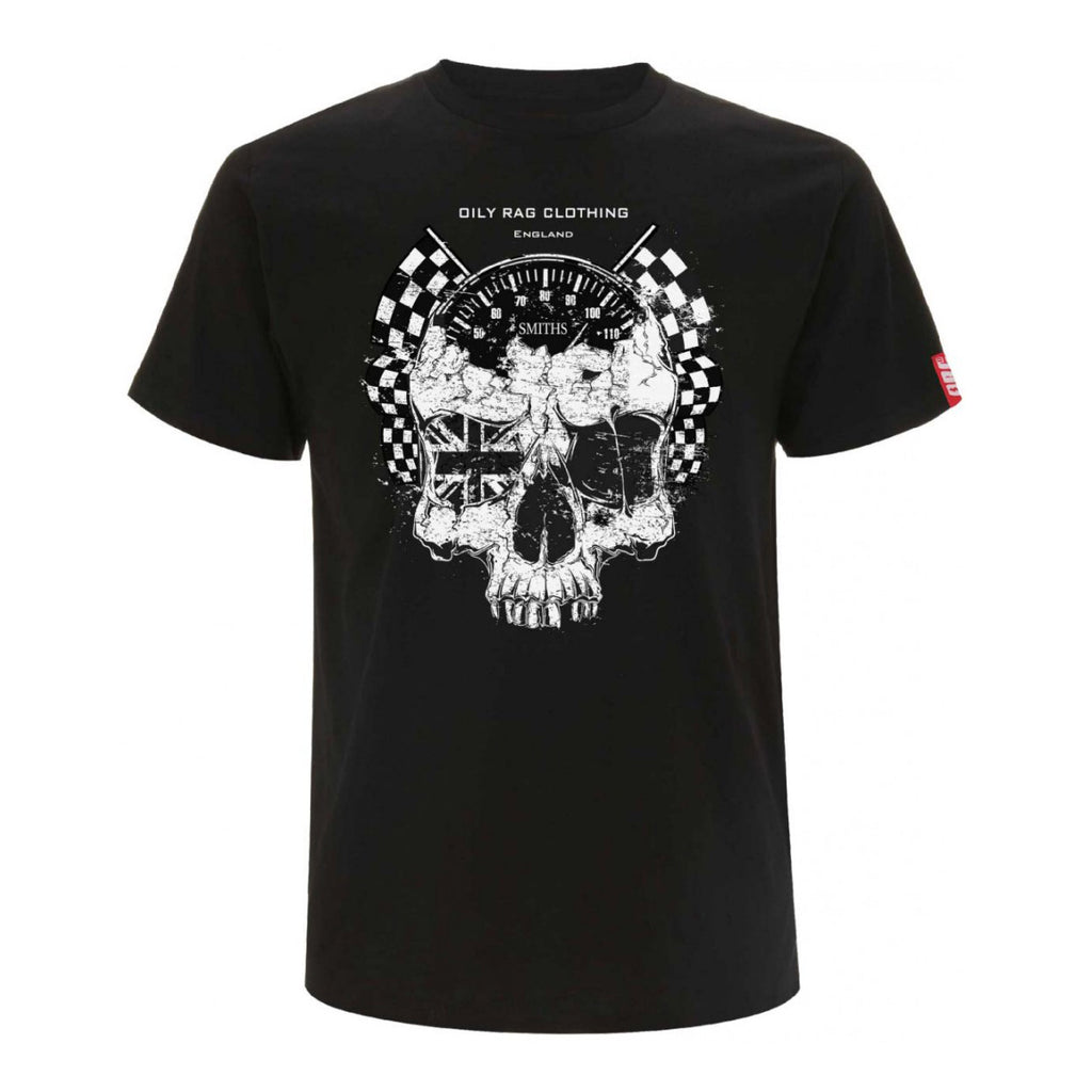 Ton Up Skull Speedo T-Shirt - Black - Black Label Collection