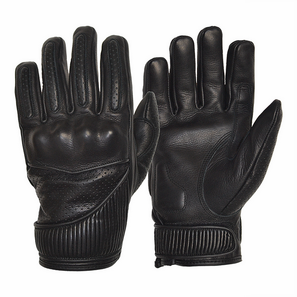 GOLDTOP Viceroy Gloves - Black / Silk Lined